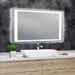 Mirrors with LED illumination