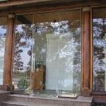 Cottage door entrance