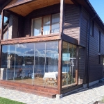 Cottage exterior glazing, visor