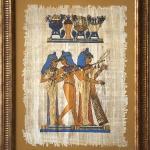 Baguette decoration of papyri